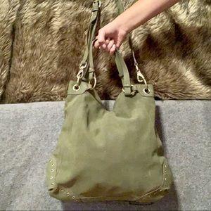 Elle Jae Gypset Olive Green Crossbody Bag